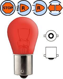 AMPOULE-12V-21W-BA15S-ROUGE-VOITURE-LAMPE-FEU-STOP-ARRIERE-BROUILLARD-CLIGNOTANT