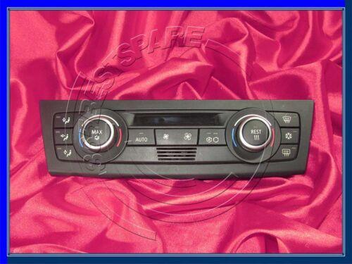 BMW 1 3 E81 E82 E87 E90 E91 E92 AC CONDIZIONAMENTO DELL/'ARIA CLIMAT Controllo Riscaldatore Klima