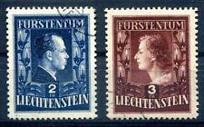 LIECHTENSTEIN 1951 304-305A gest TADELOS(E7812