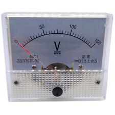 Us Stock Analog Panel Volt Voltage Meter Voltmeter Gauge 85c1 0 150v Dc