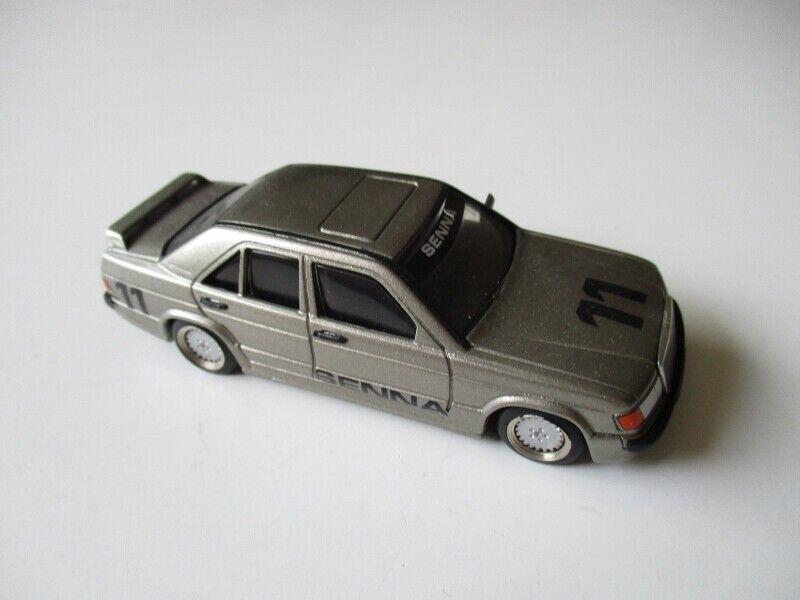 articoli promozionali AMR MINICHAMPS Metal 387 Mercedes 190 E E E SENNA 1 43  222  edizione limitata