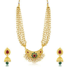Sukkhi Dazzling Gold Plated Necklace For Women(3312NGLDPP1450)