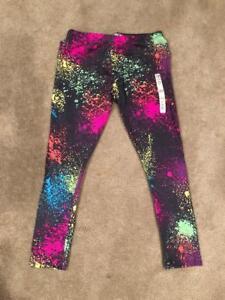 NWT Carter/'s Neon Paint Splatter Capri Leggings Girls Size 6//6X,7,8,10-12,14
