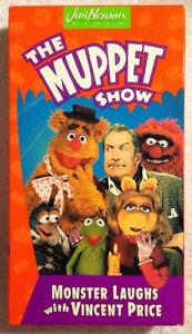Muppet-Show-The-Monster-Laughs-With-Vincent-Price-LN-Prev-Viewed-VHS-RARE