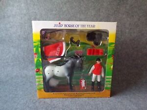 Julip-Horse-of-the-Year-HOTY-Maddie-amp-Montana-New-Sealed-Farm-Animal-Toy