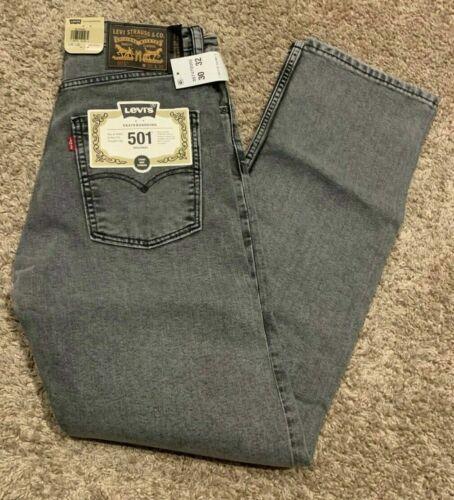 Levi/'s 501 Skateboarding Original Straight Fit Jean Gray Men/'s Sizes NWT RT$79