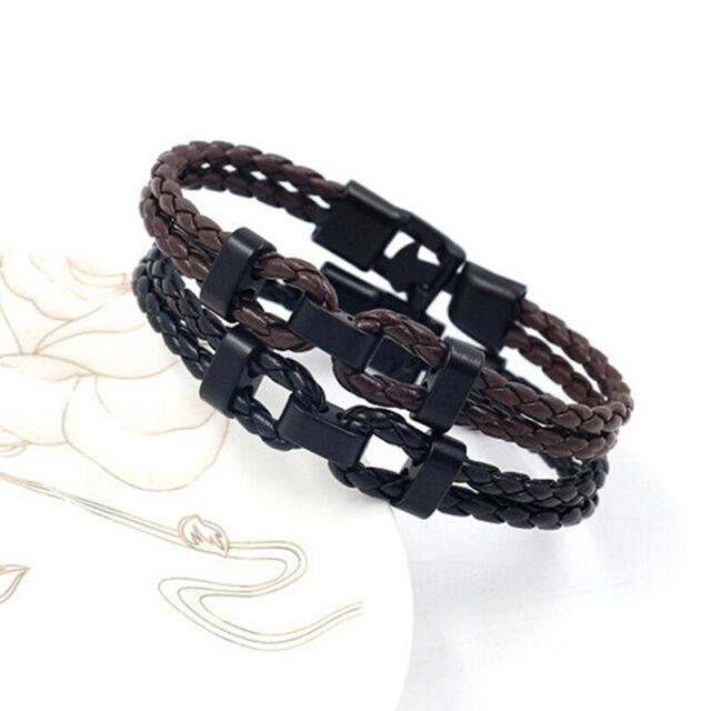 High Quality Fashion Bracelets Jewelry Leather Bracelet Men Bracelet Gift HO