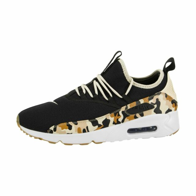 16f5db68fa Nike Air Max 90 EZ Camo Mens Ao1745-005 Black Bio Beige Running ...