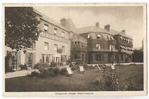 Devon-Barnstaple-Imperial-Hotel-Vintage-Postcard-21-12