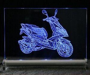 Motorroller-Roller-Scooter-Gravur-LED-Leuchtschild