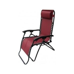 Zero gravity chair burgundy anti gravity chaise lounge for Chaise 0 gravite