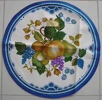 50/60er   deckchen tischtuch aussteuer    nierentisch flower power    neu/ovp