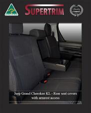 Rear Ar Seat Cover Fits Jeep Cherokee Waterproof Premium Neoprene