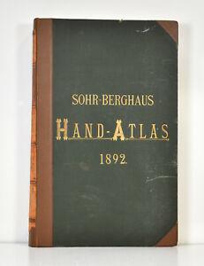 Karl reinvia: reinvia-Berghaus Hand-Atlas su tutti Theile della terra. (1892).
