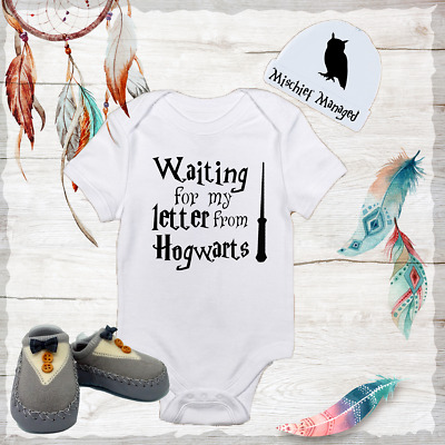 Harry Potter baby toddler bodysuit pants set girl boy clothes outfit fashion