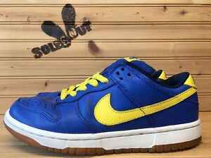 2005-Nike-Dunk-Low-Pro-SB-sz-6-Boca-Jr-Royal-Blue-Yellow-304292-471