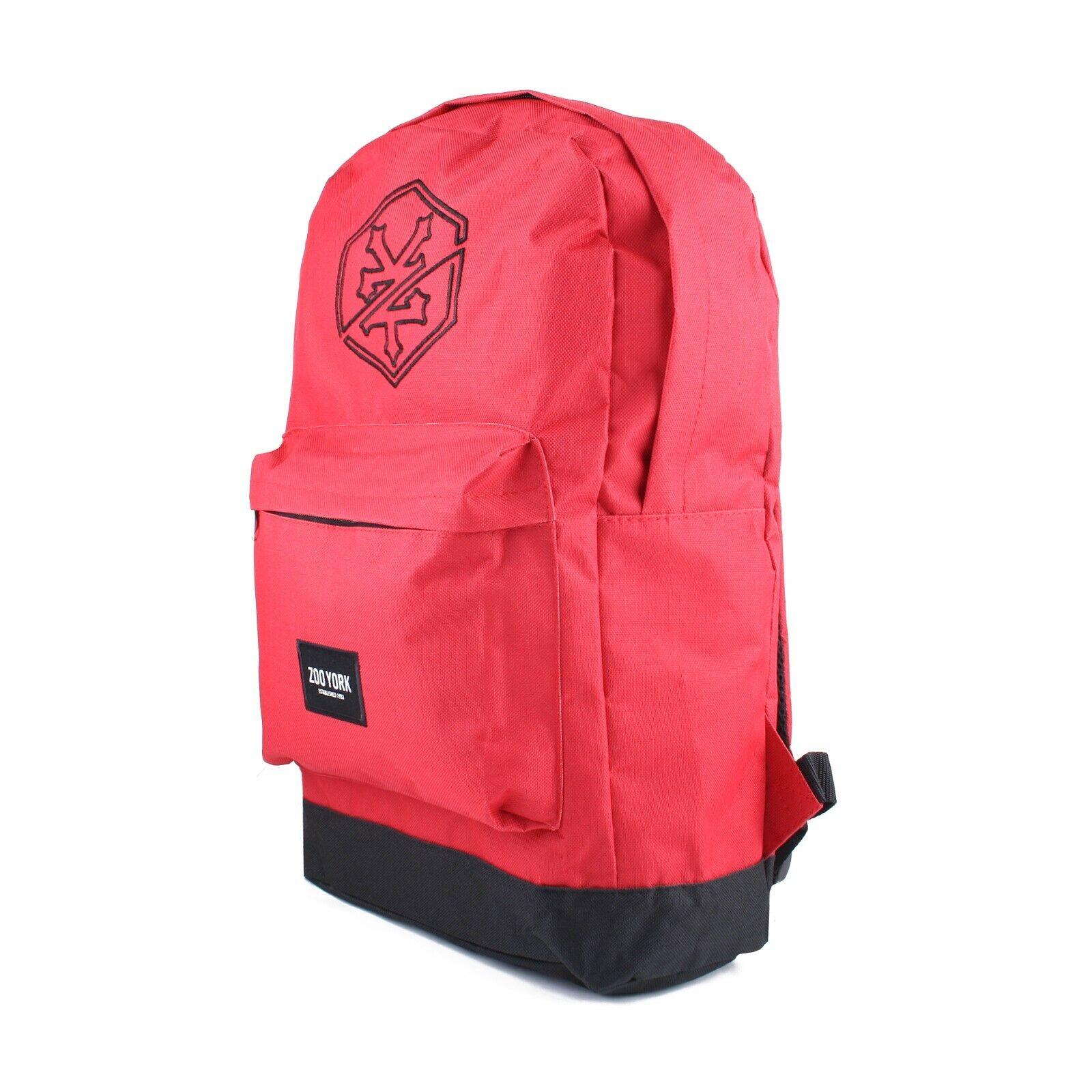 Zoo York - Auburn - Mens - Backpack - Red/Black - One Size