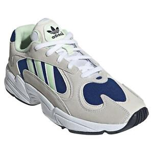 adidas-ORIGINALS-MEN-039-S-YUNG-1-TRAINERS-SHOES-SNEAKERS-WHITE-GREY-RETRO-NEW-BNWT