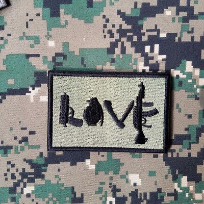 army morale military patch I Love AK