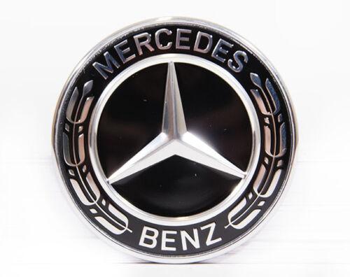 A0008171601 Original Mercedes Benz Emblem Motorhaube schwarz ML 166 auch AMG