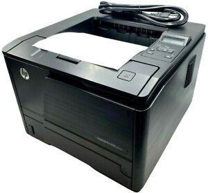 HP LaserJet Pro 400 M401DNE USB Network Workgroup Laser Printer - w/ WARRANTY!!