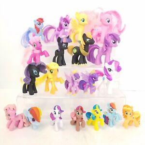 Hasbro My Little Pony MLP Mini Figure Figurine Mixed Toy LOT of 20 Ponies