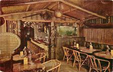 Vintage Postcard Trader Vic's Outrigger Hotel Benjamin Franklin Seattle WA