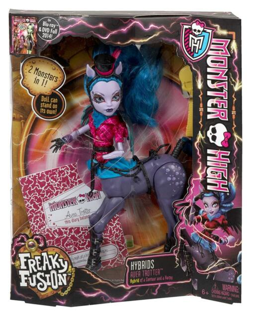 Monster High Ebay >> Monster High Freaky Fusion Avea Trotter Doll Ebay