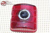51 52 Chevy Passenger Car Rear Blue Dot Tail Light Lamp Brake Stop Lens