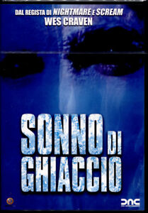 SONNO DI GHIACCIO - DVD NUOVO E SIGILLATO, PRIMA STAMPA RARA, NO EDICOLA