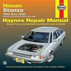 Nissan/Datsun Stanza 1982-90 Sedan and Hatchback Automotive Repair Manual by Peter G. Strasman (Paperback, 1988)