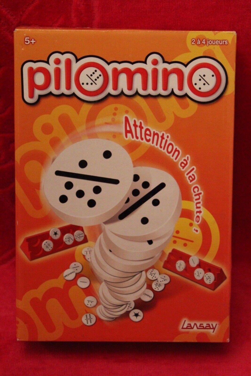 RARE   Jeu de société Pilomino - occasion complet - Domino rond