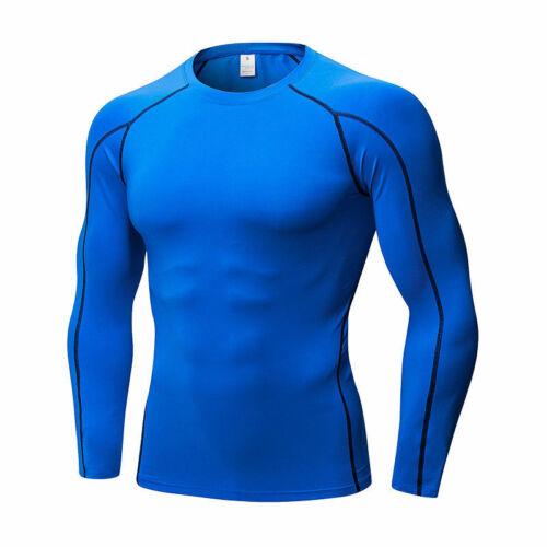 Mens Compression Collants De Sport Base Couches Spandex Sport Pantalon Long à séchage rapide