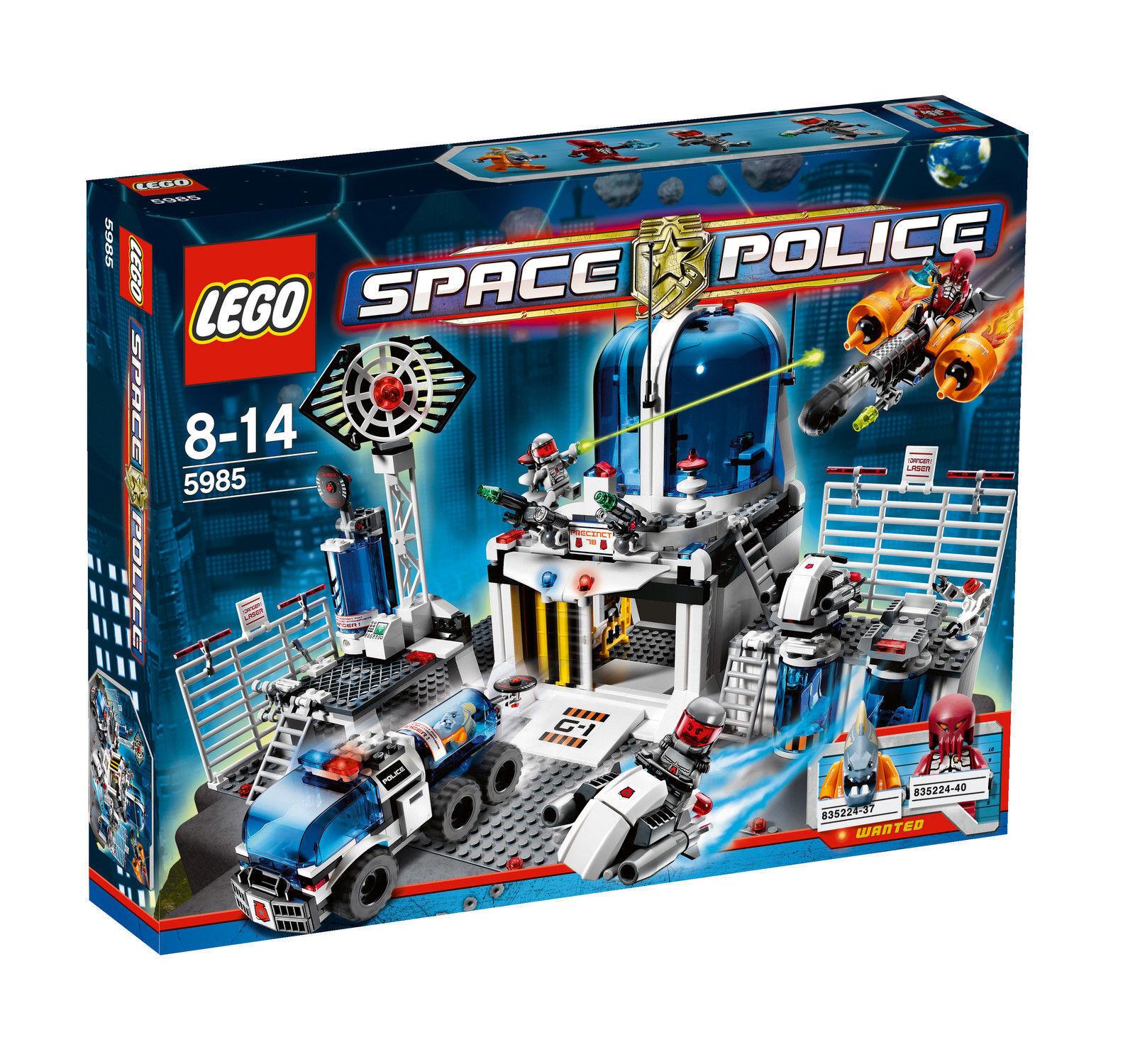 LEGO Space Police Polizeistation Zentrale 5985 neu & ovp