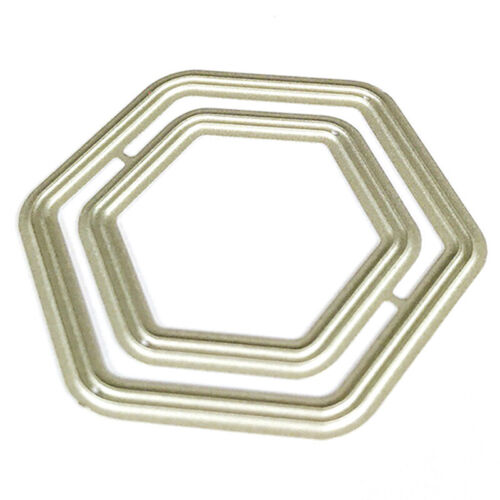 Geometric Border Set Metal Cutting Dies for DIY Scrapbooking Paper Card Dec WDC