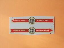 "Lesney Matchbox Series Major pack M9 ""Cooper Jarrett "" Transfers/Decals 2/2"
