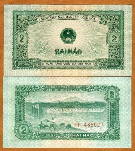 1958 Pick 69 Vietnam aUNC 2 Hao
