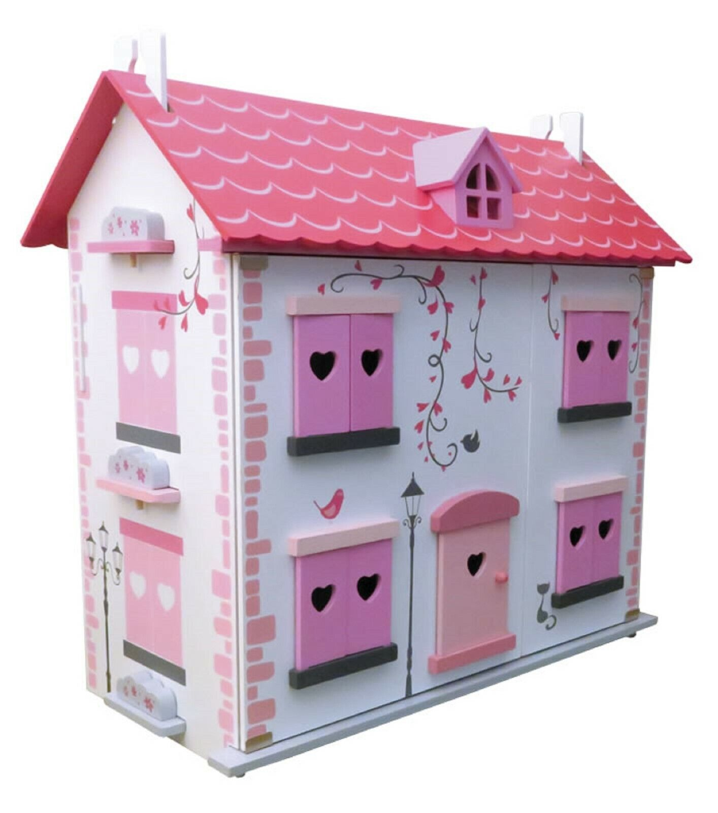 Diamond Dolls House Complete with Furniture - no Screws of Glue Needed