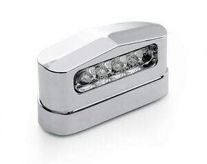 V illuminazione targa led metallo per harley davidson heritage