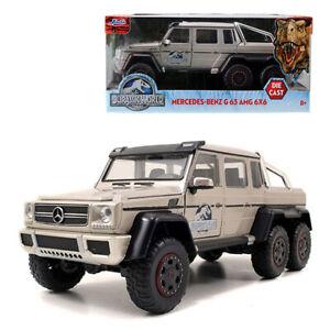 Jada-1-24-Die-Cast-Jurassic-World-Mercedes-Benz-G63-AMG-6x6-Car-Model-Collection