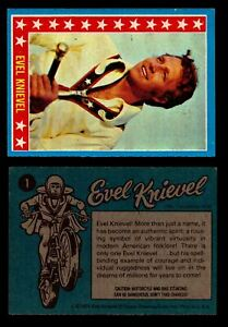Evel-Knievel-Topps-1974-Vintage-Trading-Cards-You-Pick-Singles-1-60