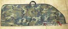 "KOPLIN SOFT PADDED (DOUBLE) RIFLE BAG, Camo Canvas, 52"" Length, Shot Gun, Case"
