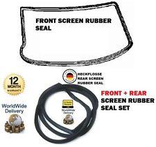 FOR MERCEDES HECKFLOSSE W110 W111 W112 1959> FRONT + REAR WINDSCREAN RUBBER SEAL