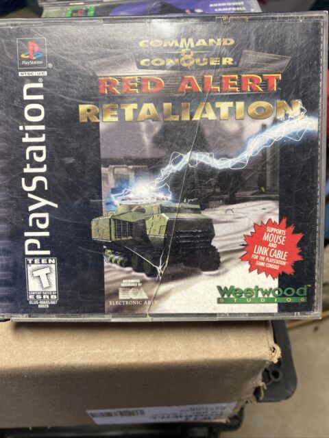 Command And Conquer Red Alert Retaliation- for PlayStation 1 PS1