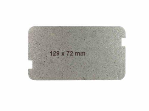 Sharp PCOVPA309WRE0 Hohlleiterabdeckung//Glimmerscheibe 129x72mm für Mikrowelle
