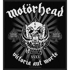 MOTÖRHEAD - Patch Aufnäher - Victoria Aut Morte 1975-2015 10x10cm