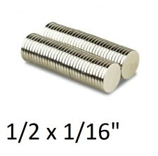Lot Of 100 50 25 Pcs 12 X 116 Neodymium Disc Strong Rare Earth N48 Magnets