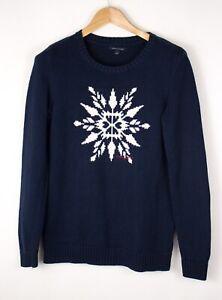 TOMMY-HILFIGER-Men-Casual-Knit-Sweater-Jumper-Size-M-ATZ694