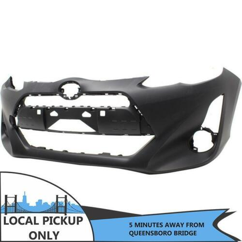 NEW FRONT BUMPER COVER FIT TOYOTA PRIUS C 2015-2016 TO1000413