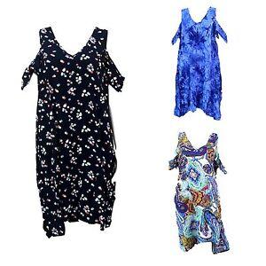 New-Women-039-s-Dress-Simple-Shouder-Off-Short-Sleeve-Casual-Dress-Summer